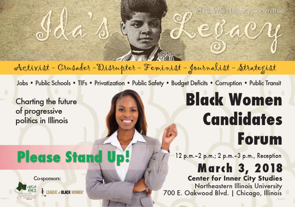 Black Womens Candidate Forum Flyer